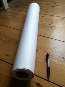 long paper roll