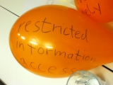 restricted info
