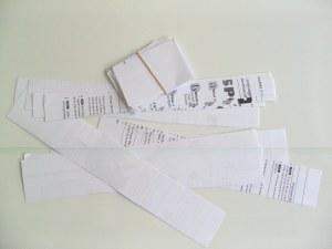 decentralised teaching equipment paper slips