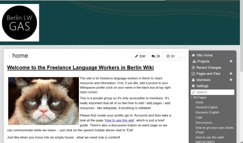 Berlin Language Worker GAS wiki